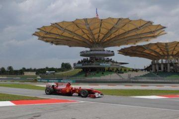 La pagoda del circuito di Sepang