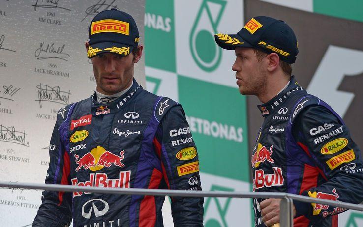 Webber e Vettel