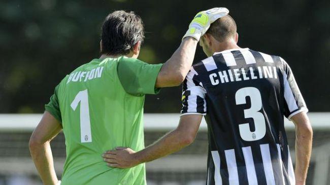Buffon e Chiellini