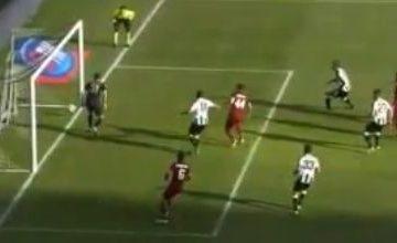 Gol di Astori - Udinese vs Roma 2014-2015