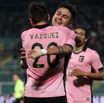 Vazquez e Dybala