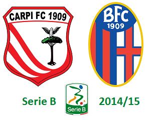 Carpi vs Bologna 2014-2015