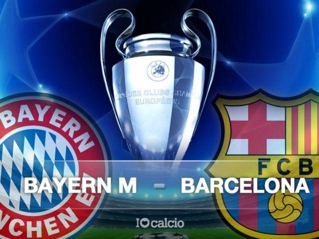 Bayern Monaco-Barcellona