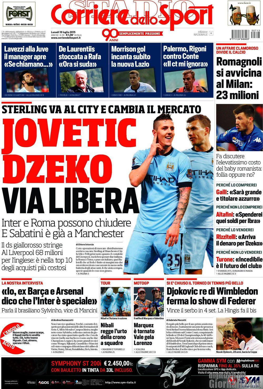 Corriere dello Sport 13-07-15