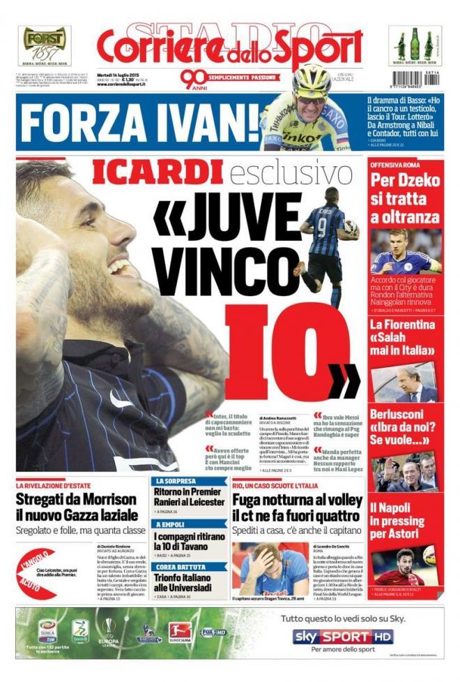 Corriere dello Sport 14-07-2015