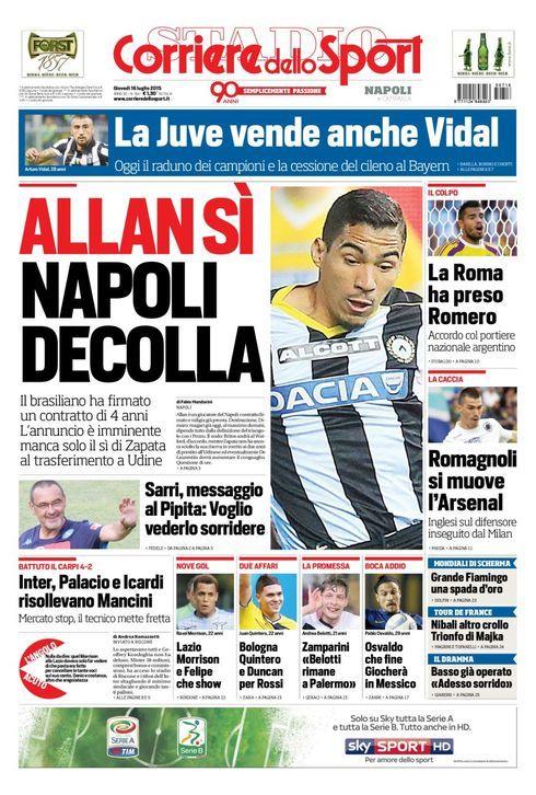 Corriere dello Sport 16-07-2015