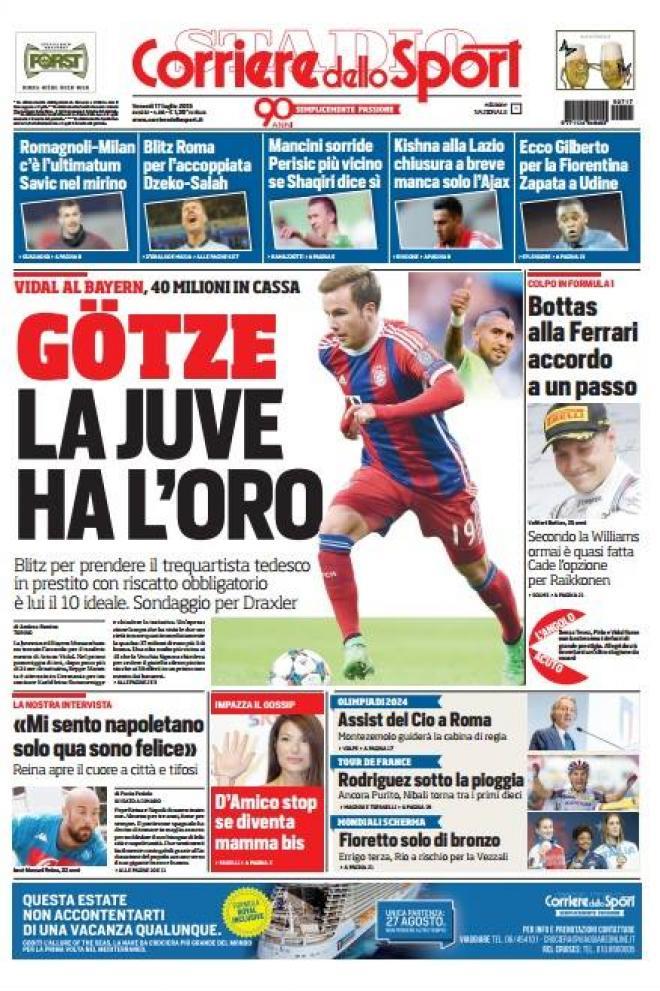 Corriere dello Sport 17-07-2015