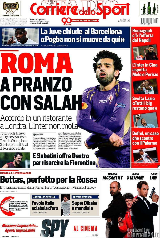 Corriere dello Sport 18-07-2015