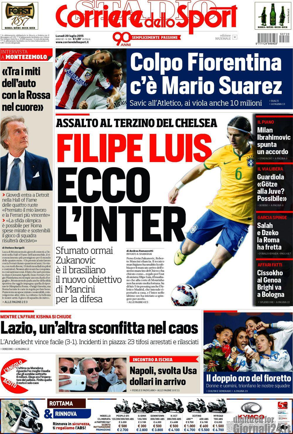 Corriere dello Sport 20-02-2015