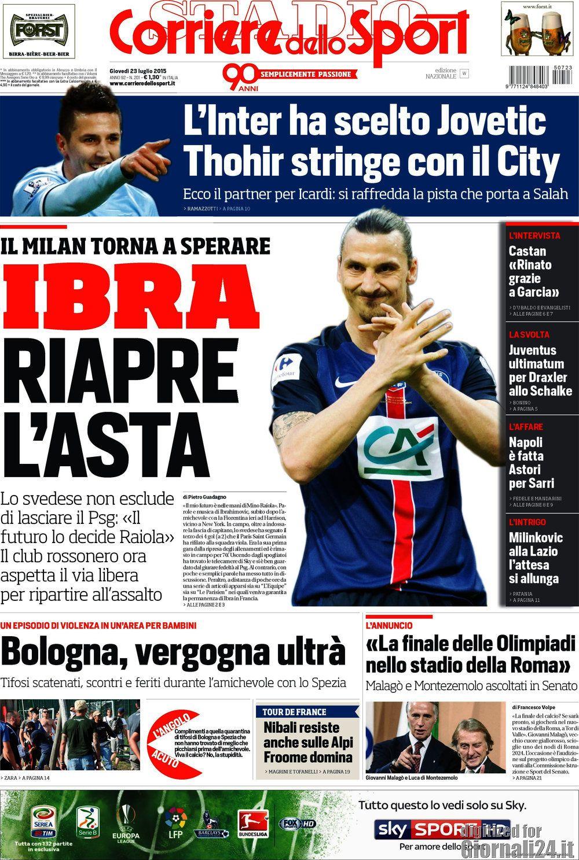 Corriere dello Sport 23-07-2015