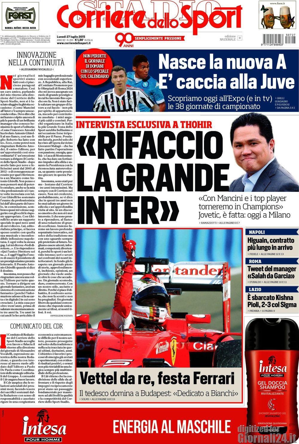 Corriere dello Sport 27-02-2015