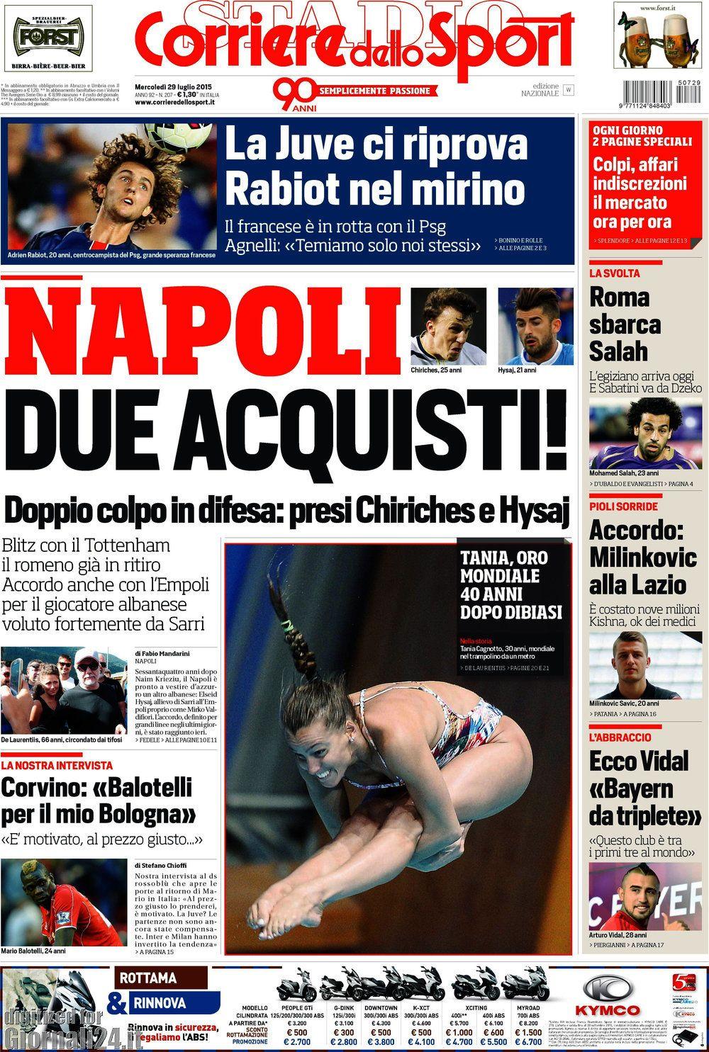 Corriere dello Sport 29-07-2015