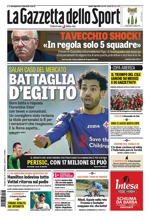 Gazzetta dello Sport 06-07-2015