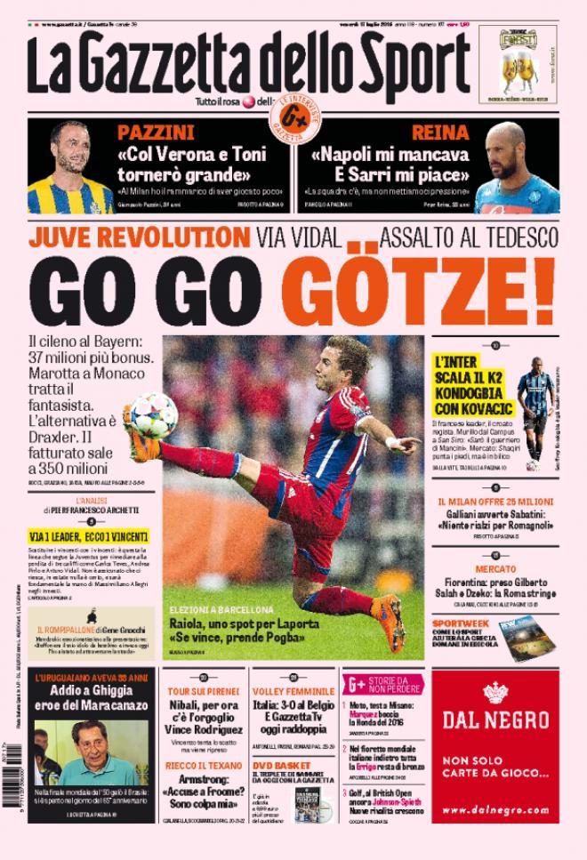 Gazzetta dello Sport 17-07-2015
