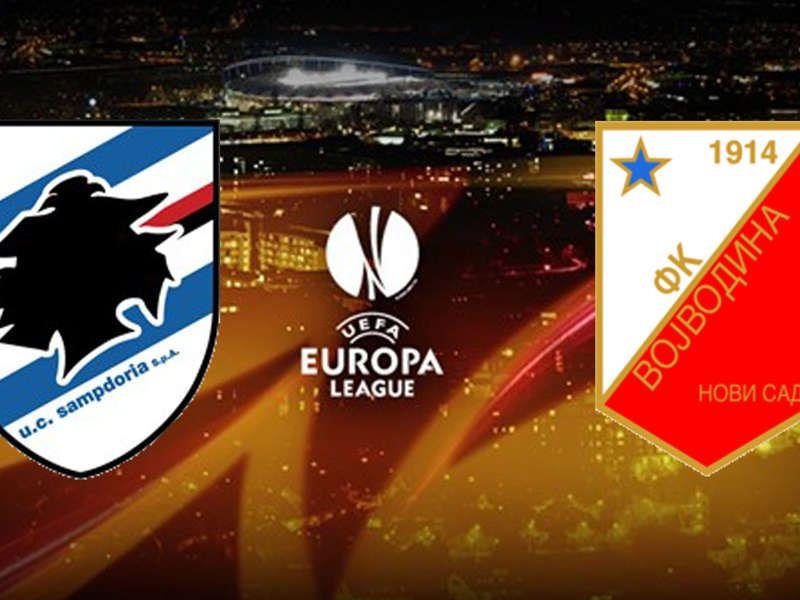 sampdoria vojvodina europa league-2