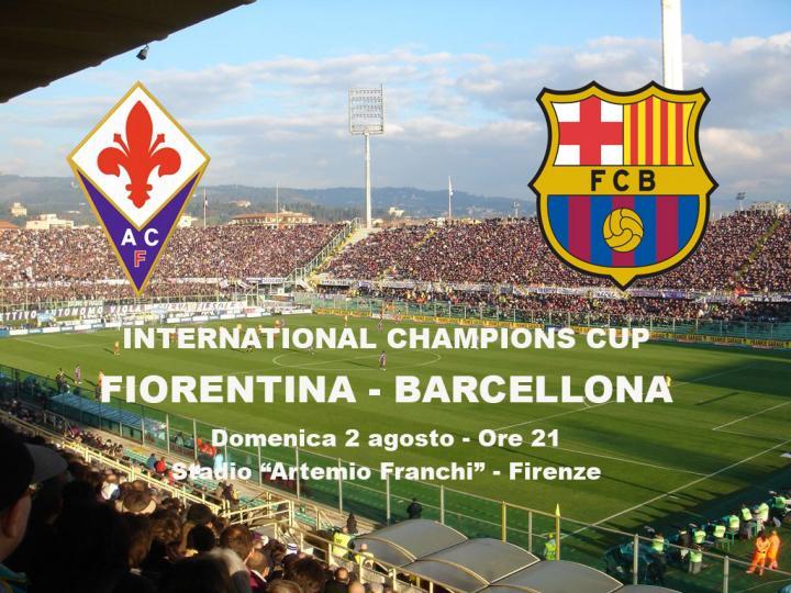 Fiorentina - Barcellona