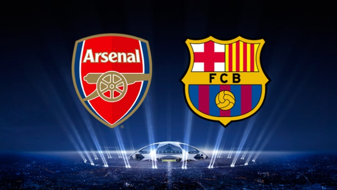 arsenal-barcellona-video-gol-highlights-champions-league-andata-ottavi-finale