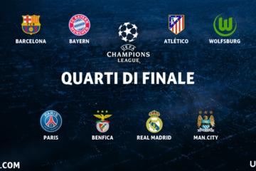 quarti di finale champions league 2015 2016