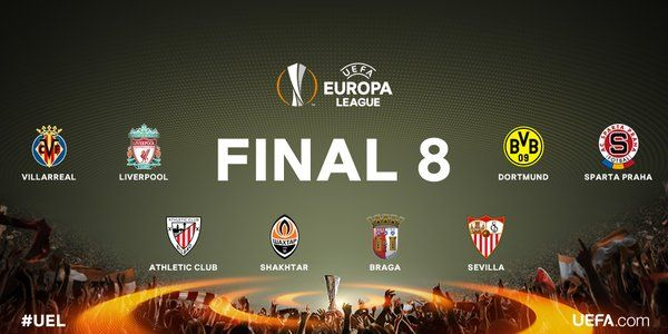 quarti di finale europa league 2015 2016