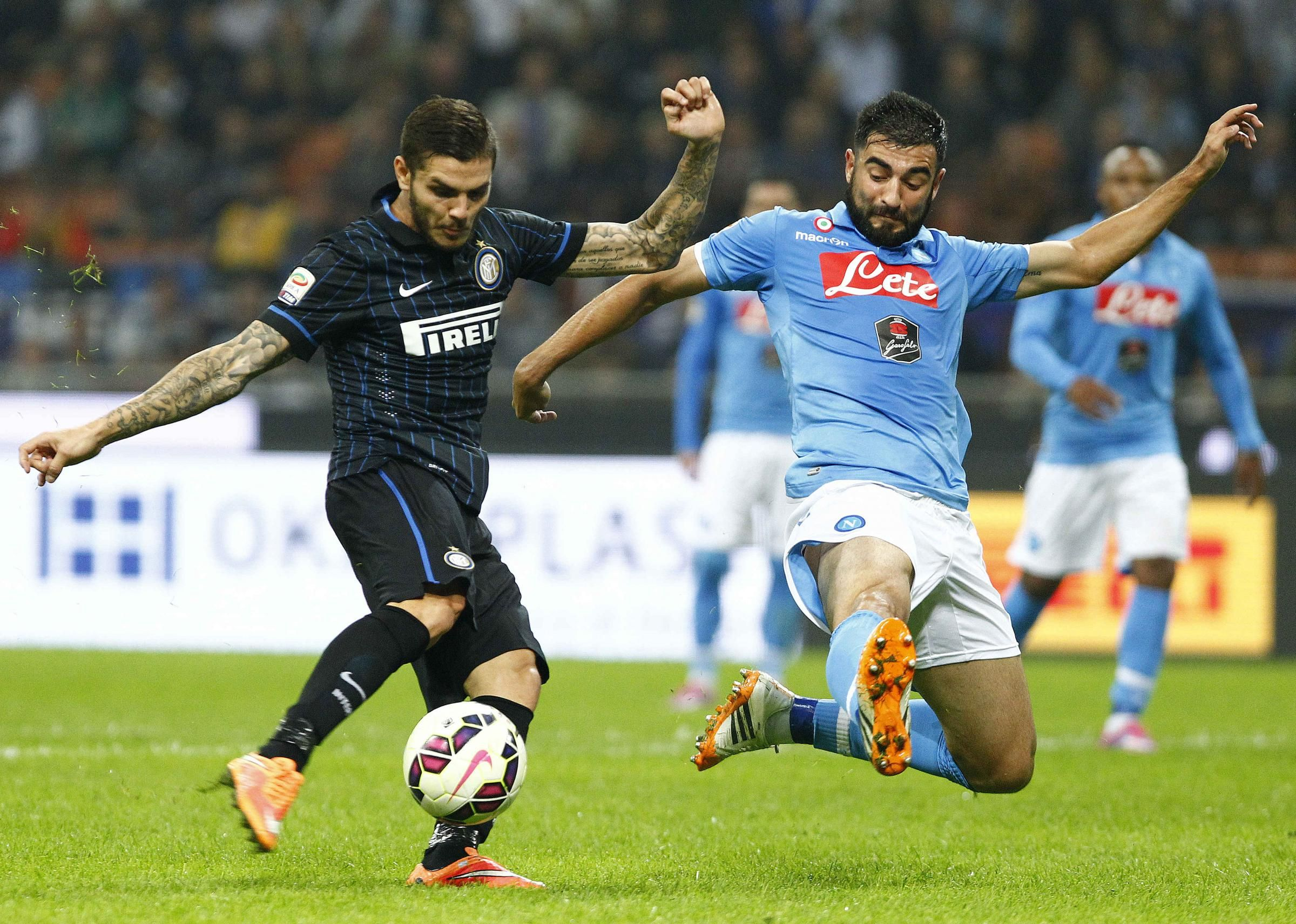 Inter vs Napoli - Streaming Serie A