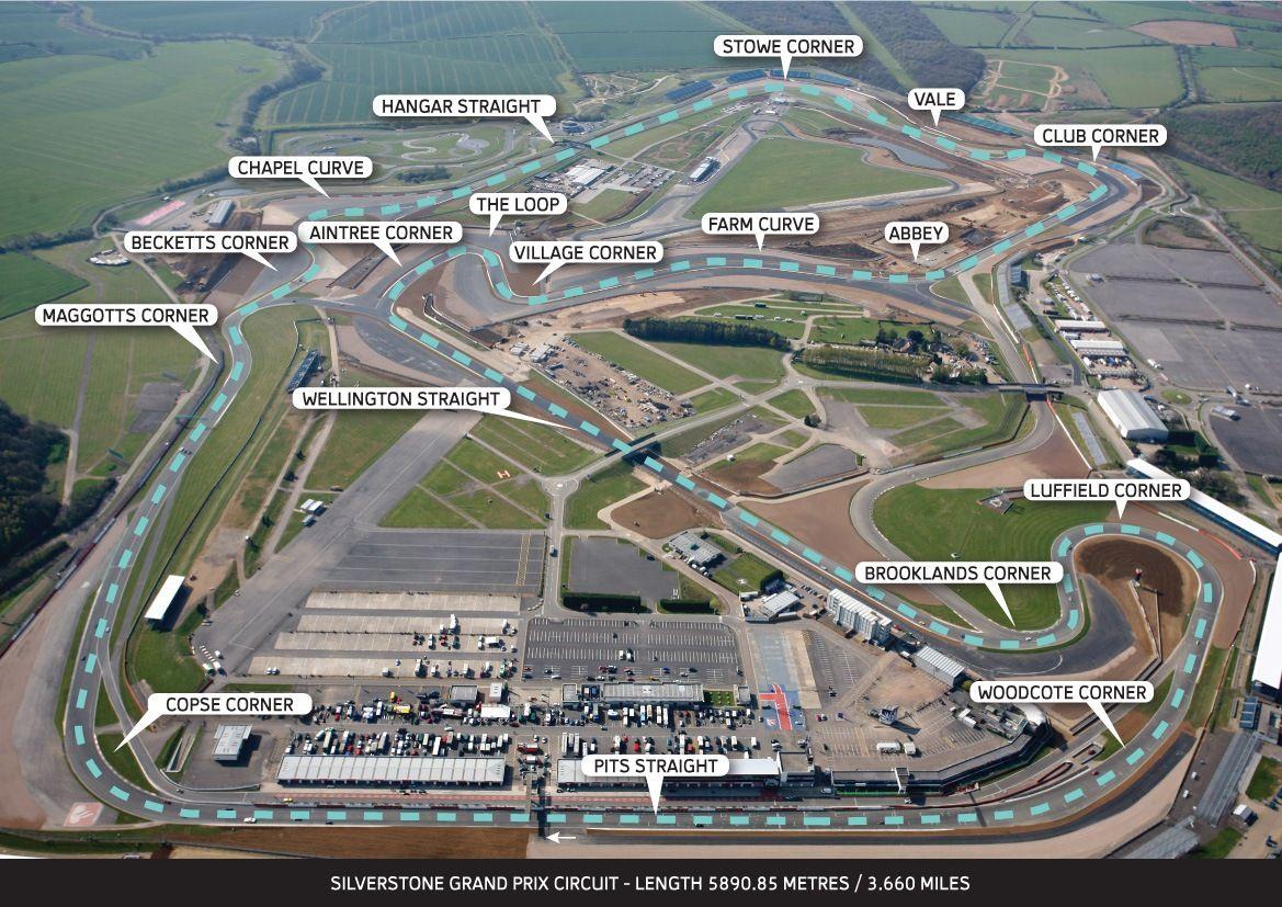 New GP Circuit Trace
