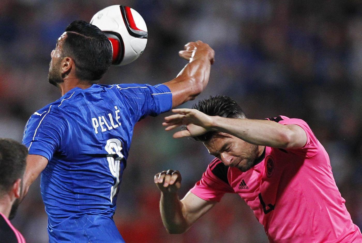 italia-scozia-video-gol-highlights-sintesi-amichevole-pellè