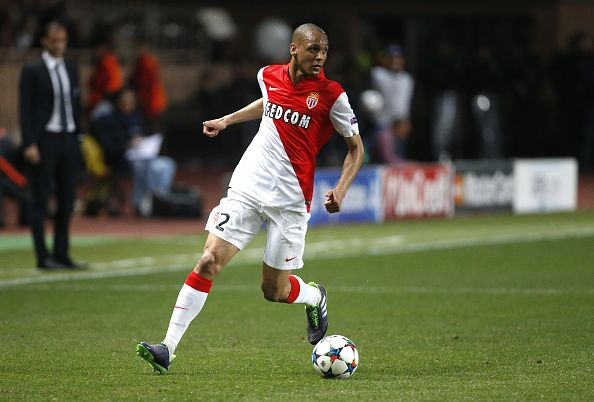 MONACO - APRIL 22: Fabio Tavares aka Fabinho of Monaco in action during the UEFA Champions League Quarter Final second leg match between AS Monaco FC and Juventus Turin at Stade Louis II on April 22, 2015 in Monaco. (Photo by Jean Catuffe/Getty Images)