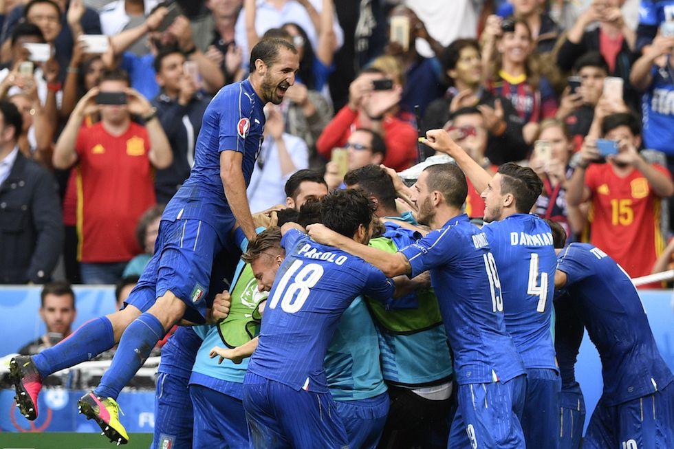 Italia-Spagna 2-0 le Pagelle