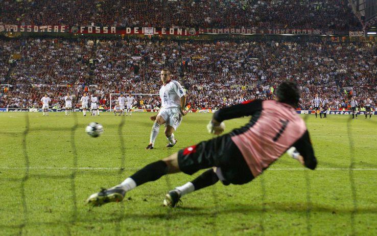Shevchenko vs Buffon (Fonte: Skysport)