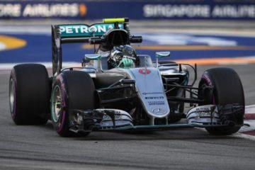 Miglior tempo di Nico Rosberg nella FP2 del GP di Singapore 2016 (foto da: motori.fanpage.it)