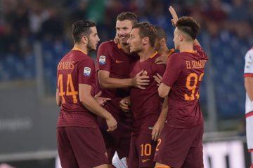 Roma-Crotone 4-0