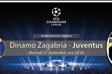 Dinamo Zagabria-Juventus Girone H Champions League 2016/2017