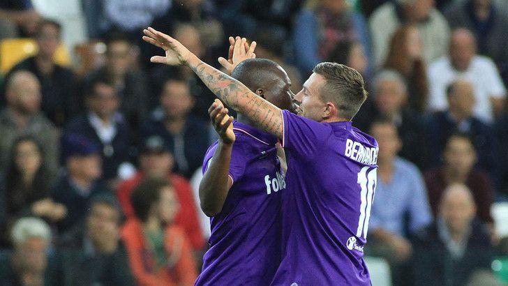 Babacar e Bernardeschi festeggiano l'1-0 - Fonte: tuttosport.com
