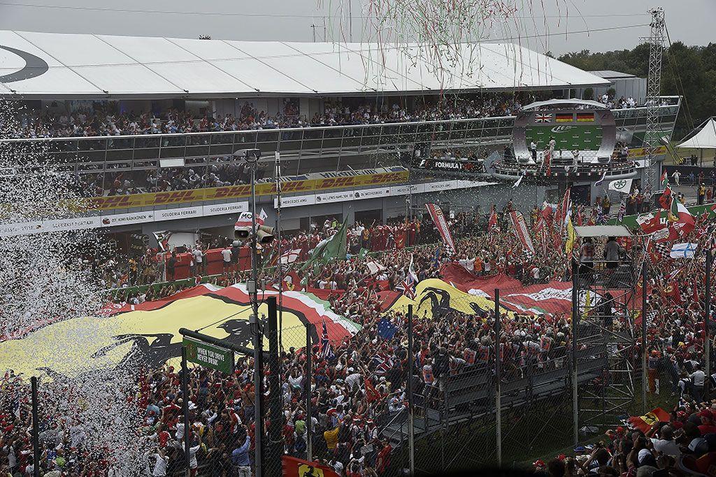 Che spettacolo la festa del podio di ieri a Monza! (foto da: sebastianvettel.de)