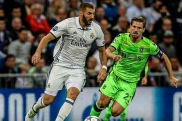 Karim Benzema, Real Madrid-Sporting Lisbona - Fonte: eurosport.it