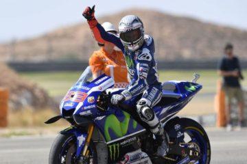 Un Lorenzo molto soddisfatto del 2° posto di domenica, in particolare per essere riuscito a battere Rossi (foto da: shannons.com.au)