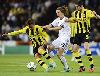 Modric in un dribbling - Fonte: insidespanishfootball.com
