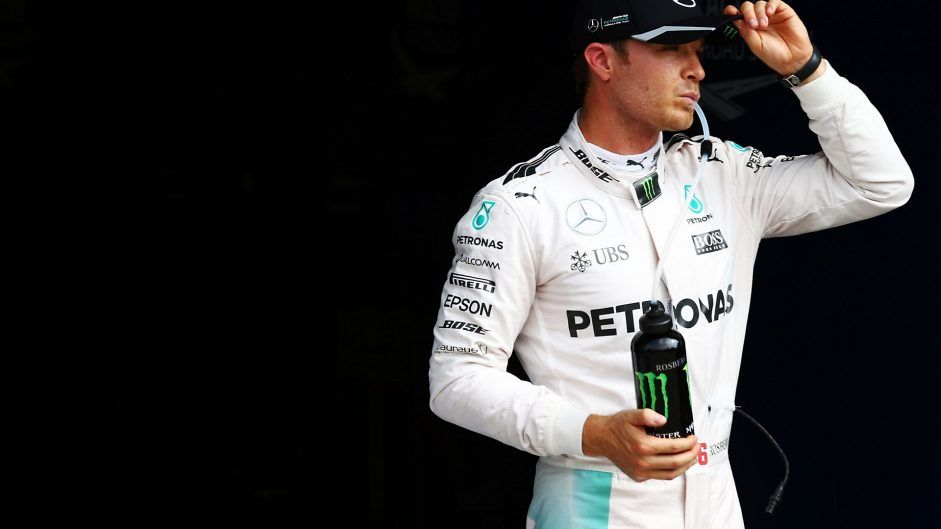 Poco ha potuto Nico Rosberg contro la furia di Hamilton. Domani dovrà dare il massimo per stargli davanti (foto da: f1fanatic.co.uk)