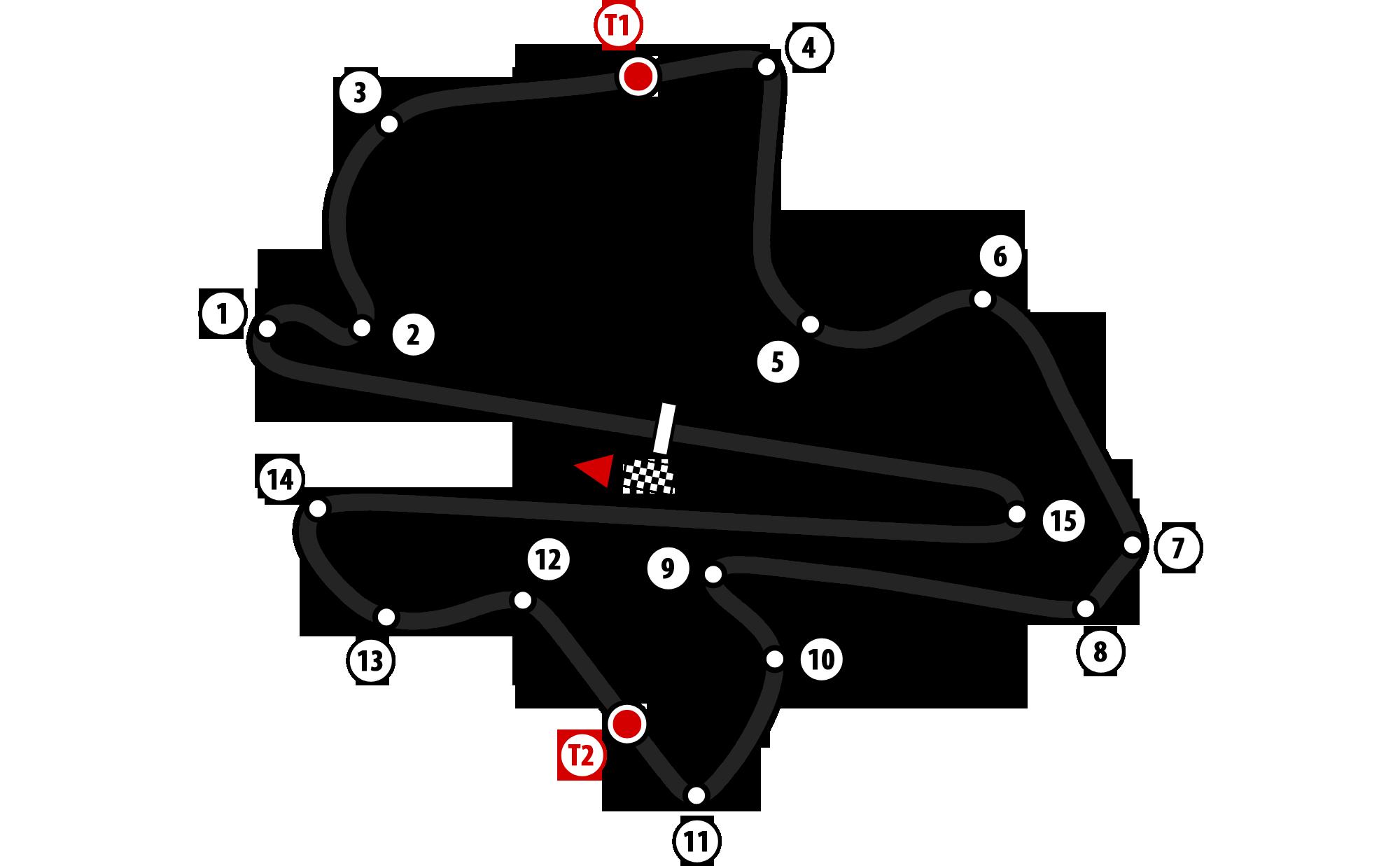 Il layout del circuito malese (foto da: thefemalecelebrity.com)
