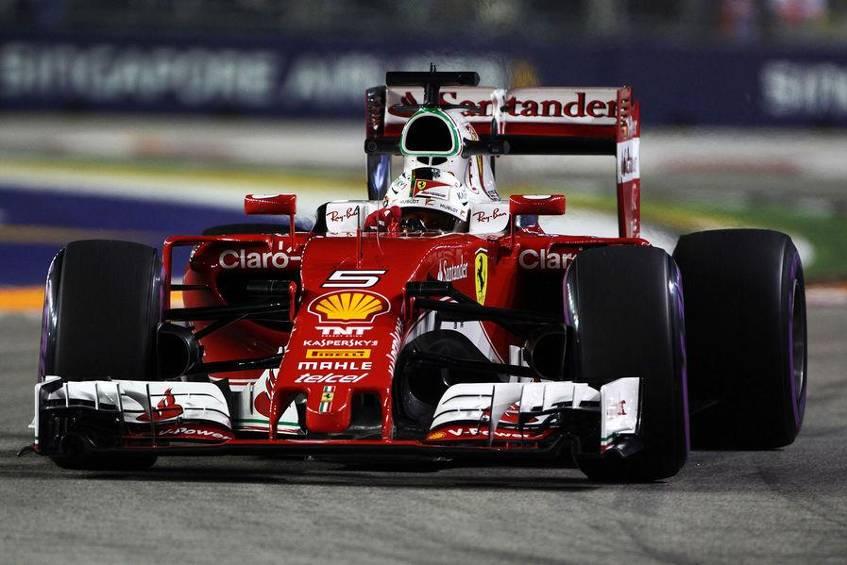 Partito dal fondo della griglia, Sebastian Vettel è risalito fino alla 5° posizione (foto da: freenet.de)