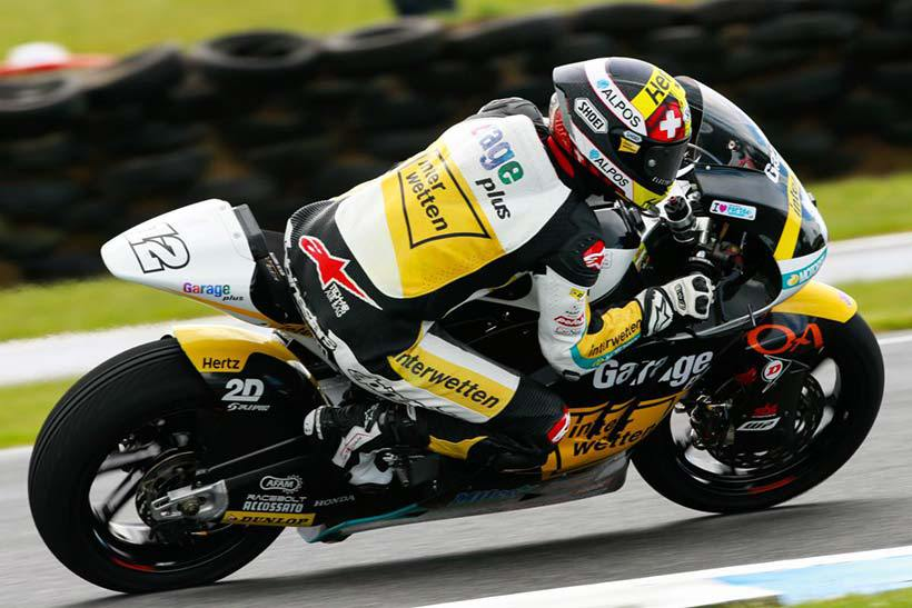 Quarta vittoria ins tagione per Thomas Luthi, nella classe Moto2 (foto da: bikerspirit.net)