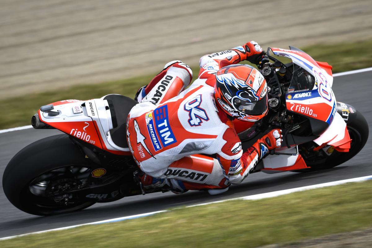 Buon venerdì a Motegi per Andrea Dovizioso, 2° assoluto nella classifica tempi (foto da: iotomotif.com)