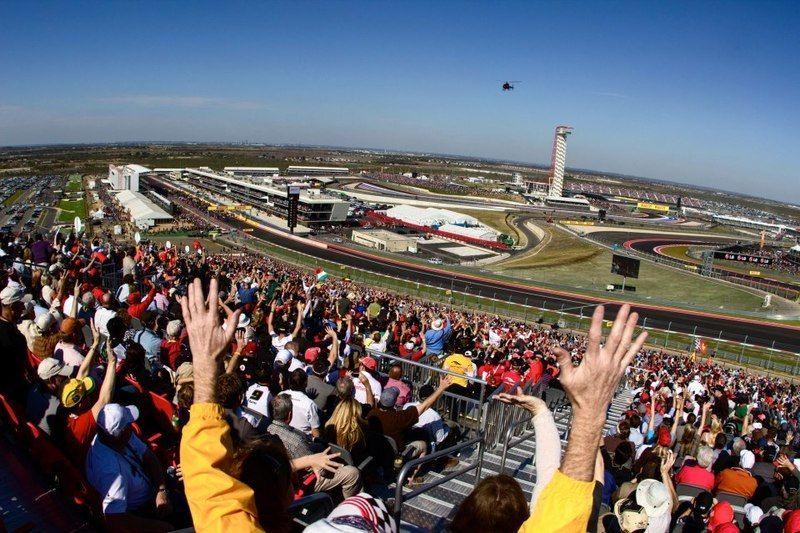 Uno scorcio delle tribune del Circuit of the Americas (foto da: kennethgorin.com)