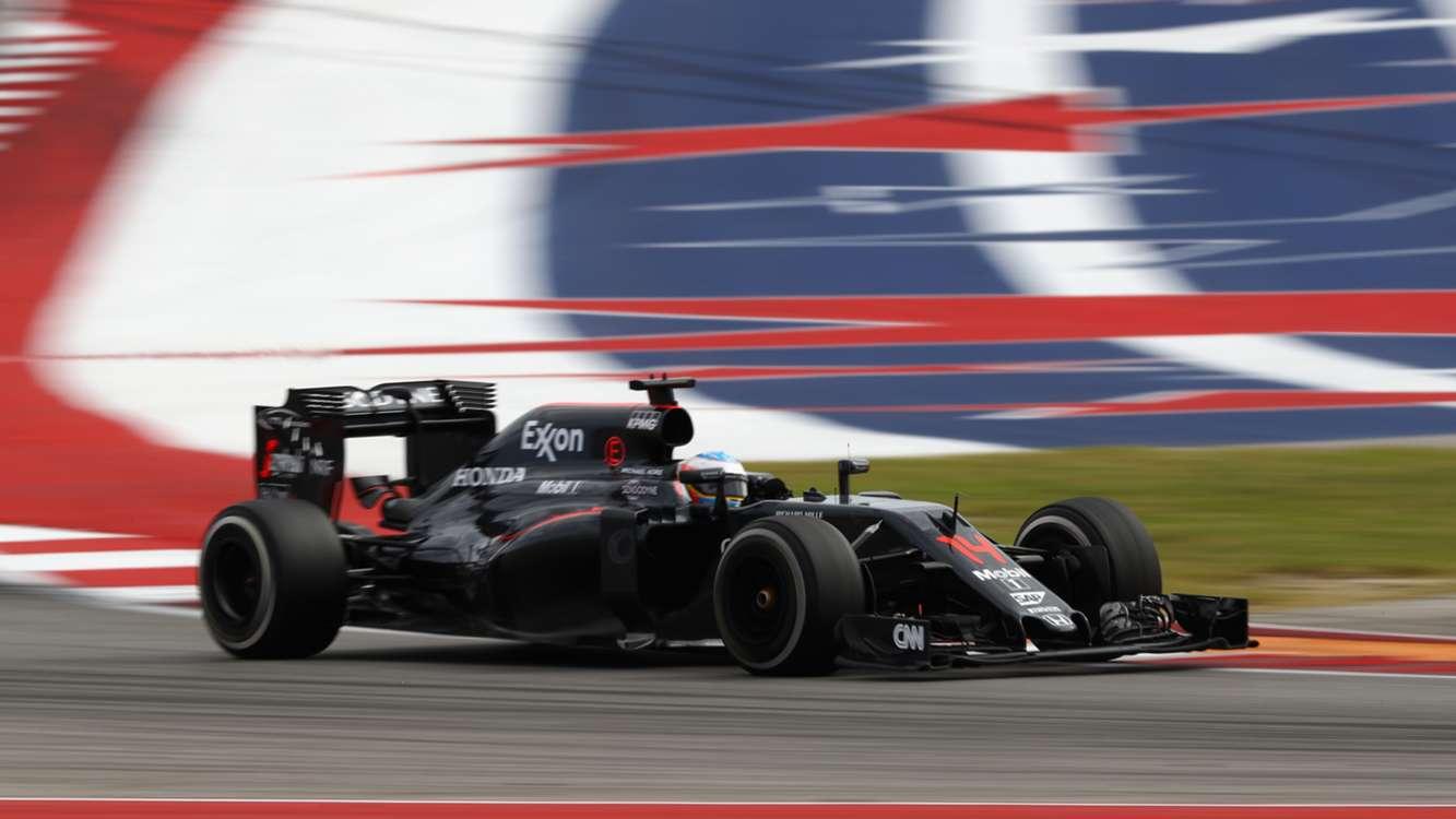 Gran 5° posto per Fernando Alonso, tra i protagonisti nella domenica di Austin (foto da: sportal.co.nz)