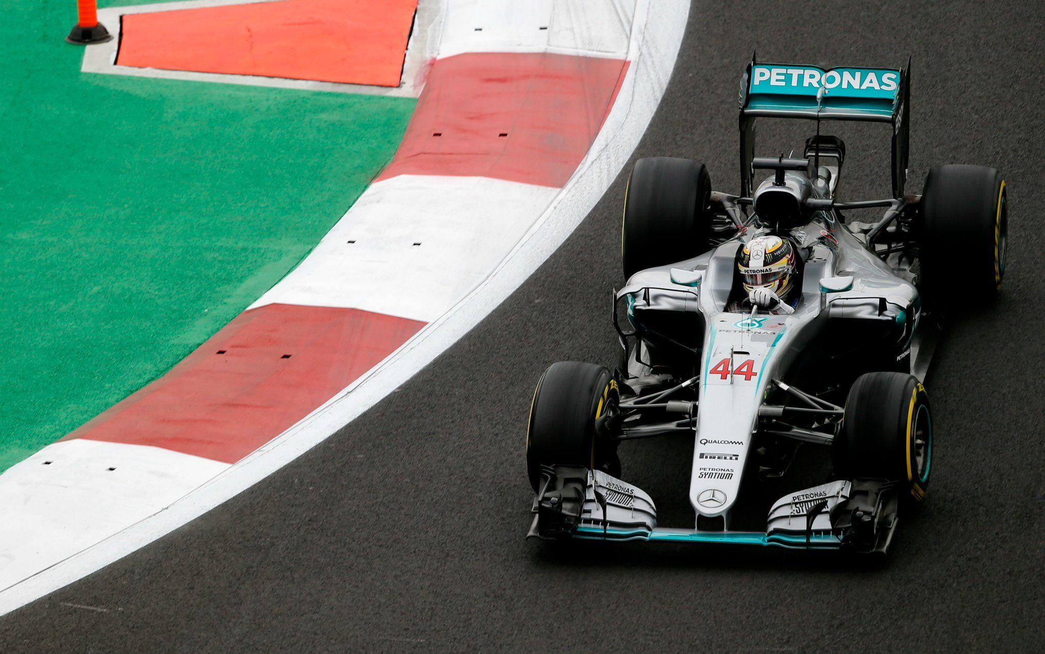 Ancora una pole position per Lewis Hamilton, il migliore nelle qualifiche di CIttà del Messico (foto da: gazetaesportiva.com)