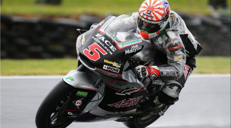 Johann Zarco, durante il weekend australiano. Il francese, in Malesia, può chiudere il discorso iridato della Moto2 (foto da: mototribu.com)