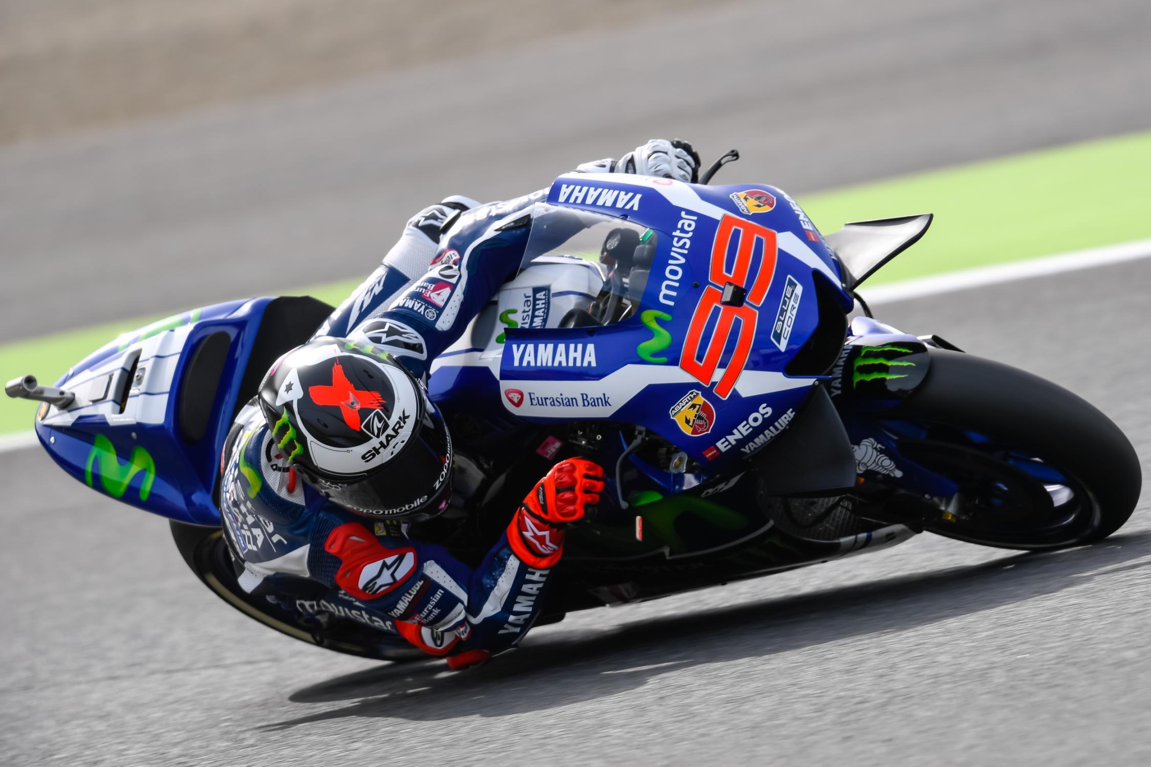Miglior tempo per Lorenzo, il più rapido delle prime due sessioni di prove sul circuito di Motegi (foto da: motoblog.it)