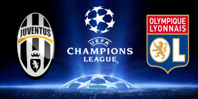 Juventus-Lione, ottavi di finale Champions League