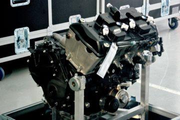 Un motore attuale della classe Moto2 (foto da: 2wheeltuesday.com)