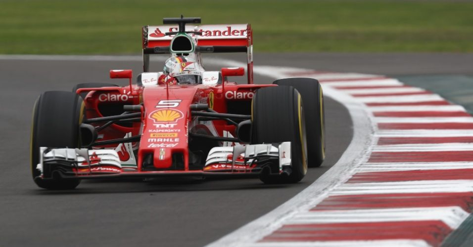 Sebastian Vettel è stato il più veloce nel venerdì dell'Hermanos Rodriguez (foto da: noticias.bol.uol.com.br)